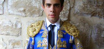 Curro Moreno el domingo en Zalamea la Real