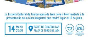 Acto de presentación de la clase magistral de Jaén